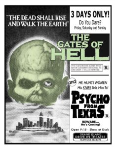 Gates of Hell + Psycho from Texas (Blu-Ray) Code Red Ltd